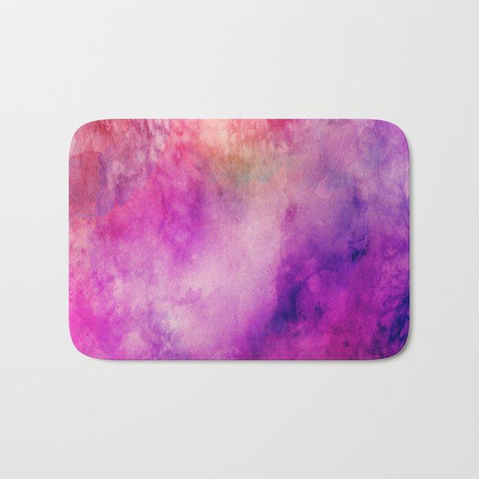 Watercolor background Bath Mat