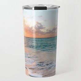 Tropical Sunset Beach, Sunset Photo Travel Mug