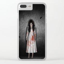 The dark cellar Clear iPhone Case
