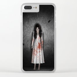 The dark cellar Clear iPhone Case