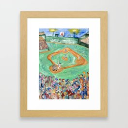 Fenway Framed Art Print
