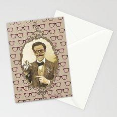 Monsieur Skull Stationery Cards