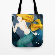 little mermaid Tote Bag