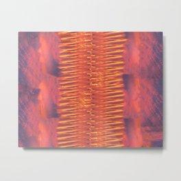 Lava Lamp Skies Metal Print
