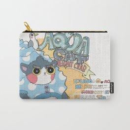 Aqua cat_Puno Carry-All Pouch