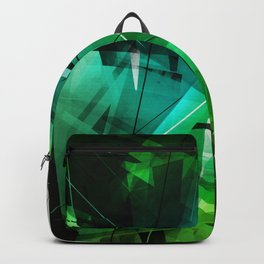 Jungle - Geometric Abstract Art Backpack