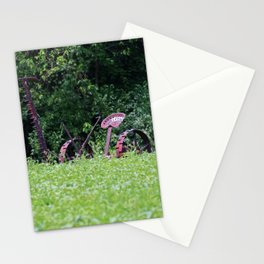 Vintage Horse-drawn Farm Mower Stationery Cards