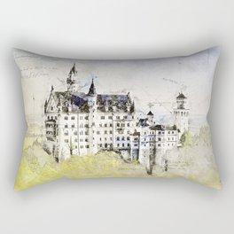 Neuschwanstein Castle, Bavaria Germany Rectangular Pillow