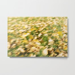 Autumn Leaves Abstract 7 Metal Print