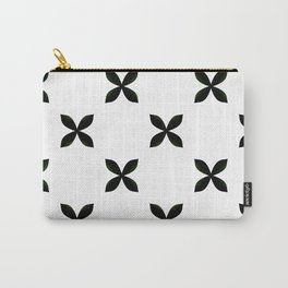 Pattern in Black and White Carry-All Pouch