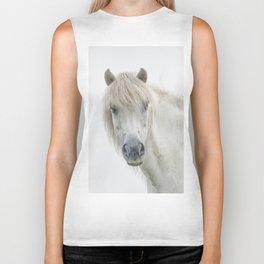 Horse eyes look at you Biker Tank