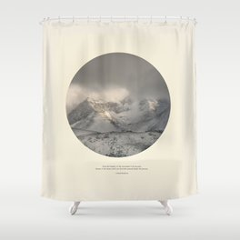 love the mountains... Shower Curtain