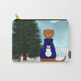Oliver Finds His Christmas Tree Carry-All Pouch