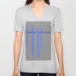 Broken but Blue Unisex V-Neck