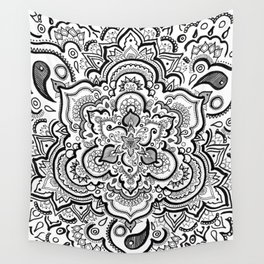 BLACK & WHITE 2 Wall Tapestry