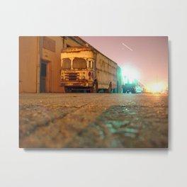 Bus Metal Print