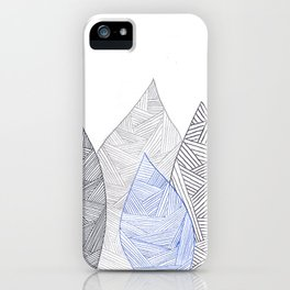 Pen & Ink Leaves iPhone Case