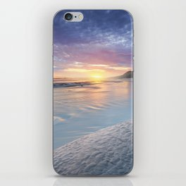 Curving into an Eleven Mile Sunset iPhone Skin