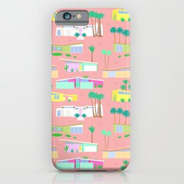 Palm Springs Houses iPhone Case