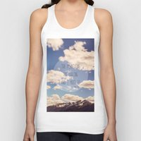 the mountains are calling Tank Tops featuring the mountains are calling by shannonblue