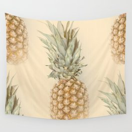Pineapples On A Vintage Mood #decor #society6 Wall Tapestry
