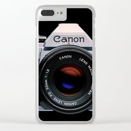 Canon AE-1 Clear iPhone Case