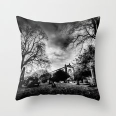 Greyfriars Kirk Edinburgh Throw Pillow