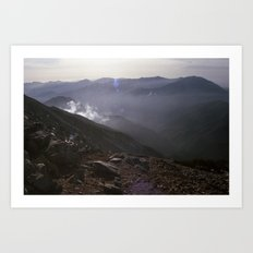 Angeles National Forest Art Print