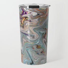 Abstract Oil Painting 9 Travel Mug