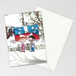 La vie est merveilleuse Stationery Cards