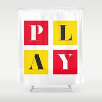 play Shower Curtains featuring Play by KARNATARKA
