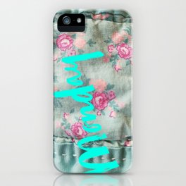 What day is it? - Monday iPhone Case