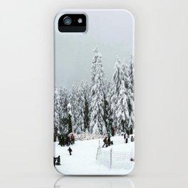 Mountaintop iPhone Case