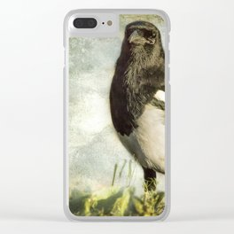 Message from the Magpie Clear iPhone Case