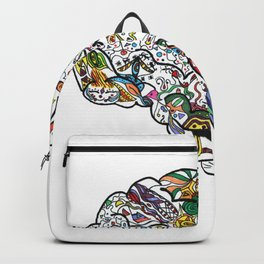 Rainbow Brain Backpack