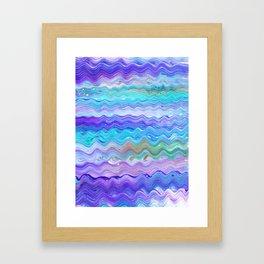 Unicorn Brainwaves Framed Art Print