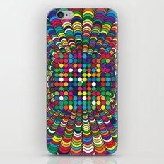 Focus Geometric Art Print. iPhone & iPod Skin