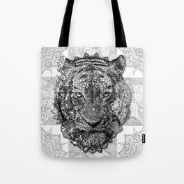 mandala tiger Tote Bag