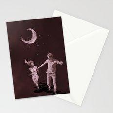 Moonlight Run Stationery Cards