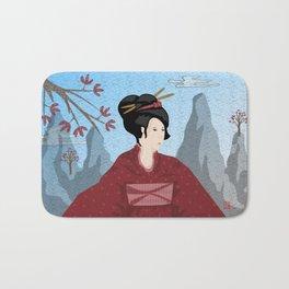 Old Style Japanese Bath Mat