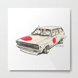 Crazy Car Art 0174 Metal Print