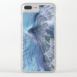 on wings Clear iPhone Case