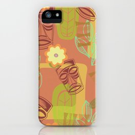 Happy Hour At The Tiki Room iPhone Case