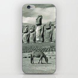EASTER ISLAND VISTA iPhone Skin