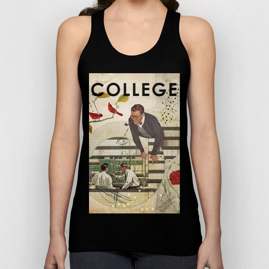 Welcome to... College Unisex Tank Top