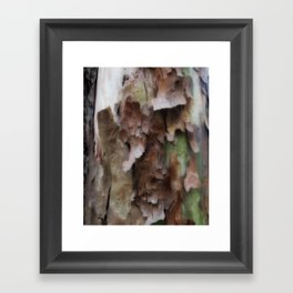 Peeling me softly Framed Art Print