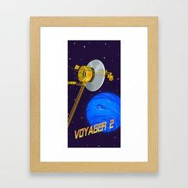 Revolutionary Spacecrafts Series: Voyager 2 Framed Art Print