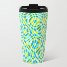 Mixed Polyps Yellow - Coral Reef Series 039 Travel Mug