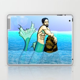 Melancholy Merman Laptop & iPad Skin