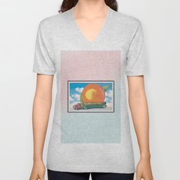 Eat a Peach by The Allman Brothers Band Unisex V-Neck
